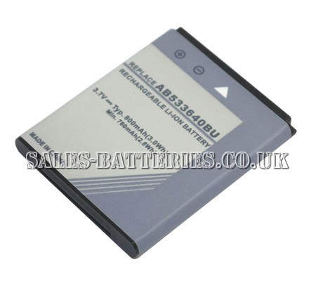 Samsung  800mAh Gt-s8300c   Battery