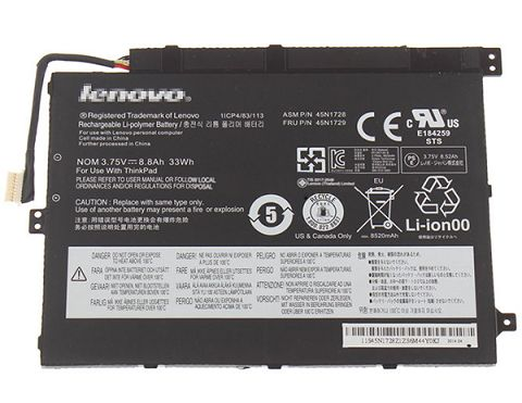 Lenovo  33Wh 45n1728 Laptop Battery