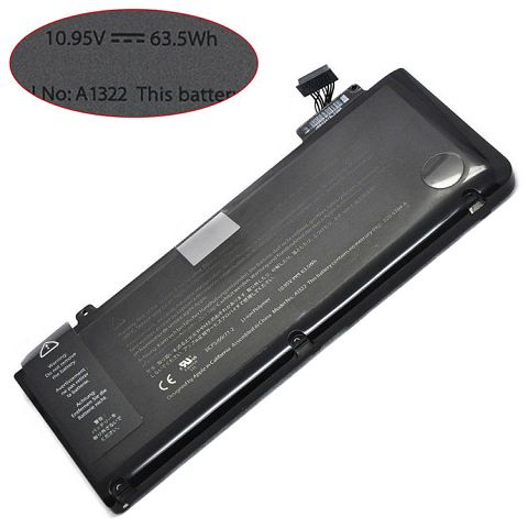 Battery For apple macbook pro 13 inch mb471e/a