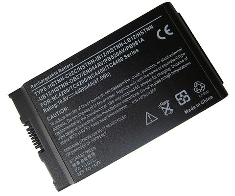Hp Compaq  4400mAh Business Notebook 4200 Series Laptop Battery