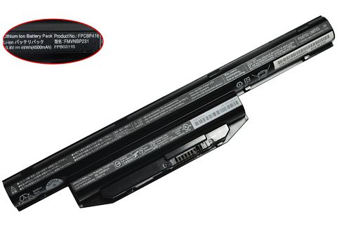 Battery For fujitsu lifebook e754