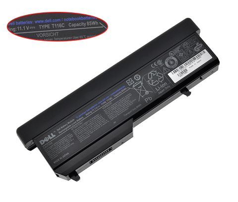Dell  7800mAh Vostro 2500 Laptop Battery