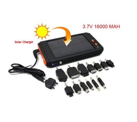 16000mAh Laptop Solar Laptop Charger for PC Cell Phones